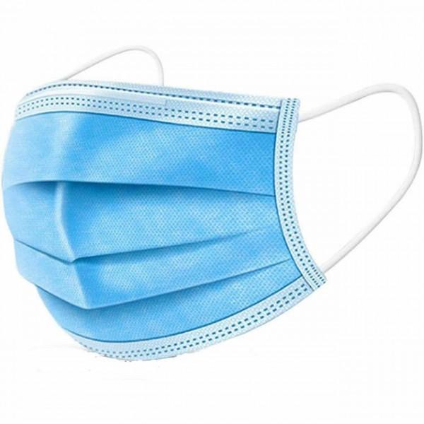 Medical Face Mask Earloop Blue EN14683 Typ IIR 3000Stk / Karton