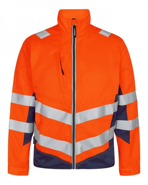 Warnschutz Sommer-Jacke Fb. Orange Blue, Gr. L