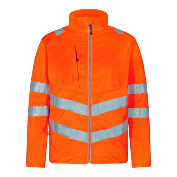 Softshell-Jacke Warnschutz EN ISO 20471 Fb. Orange, Gr. 2XL