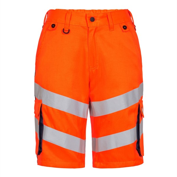 Safety Shorts Fb. Orange/Blue Ink Gr. 50
