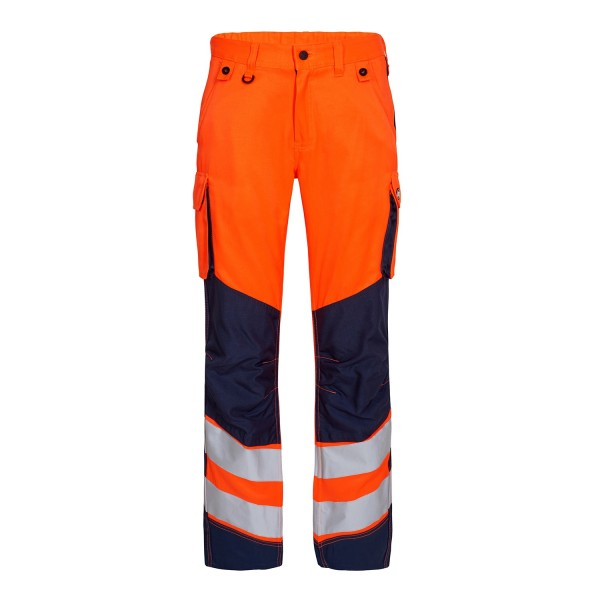Sommer Warnschutz Hose EN347 Fb. Orange Blue, Gr. 50