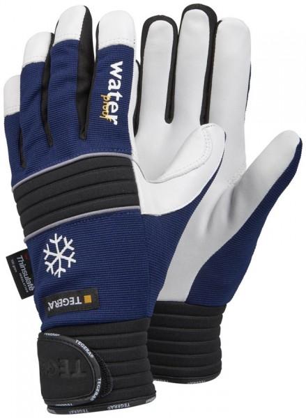 Arbeits-Winterhandschuhe blau/schwarz m. Tinsulate #Varinfo