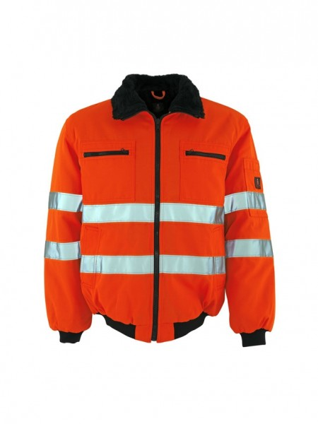 Alaska Pilotjacke Fb. hi-vis Orange, Gr. 2XL
