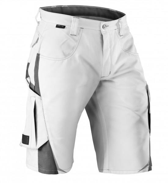 PULSSCHLAG Shorts Fb. weiß/anthrazit Gr. 40