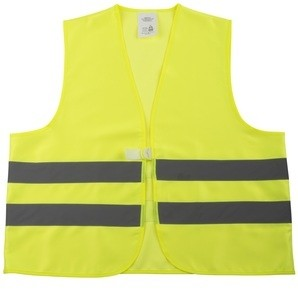 Warnschutz-Weste ÜG gelb,EN471 gelb fluoreszierend