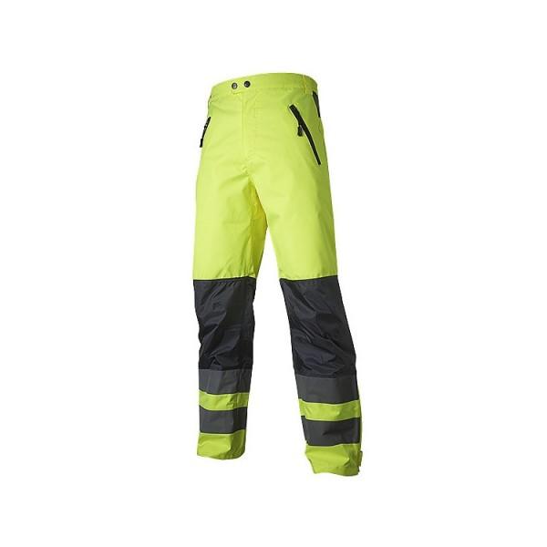 Warnschutz Regenhose Fb. gelb/marine #Varinfo