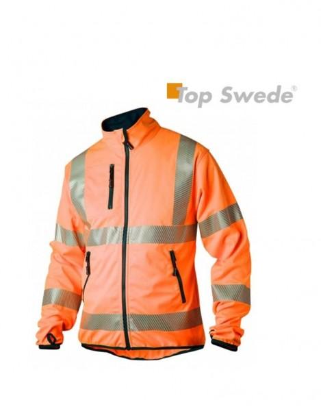 Warnschutzsoftshelljacke Fb. orange, #Varinfo