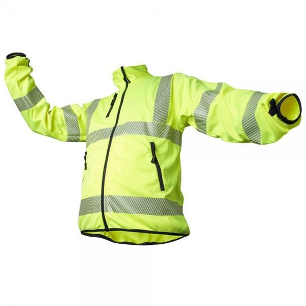 Warnschutzsoftshelljacke Fb. gelb, #Varinfo