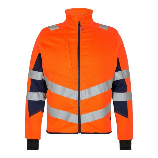 Safety Warnschutzjacke aus Stretch Fb. Orange Blue, Gr. L
