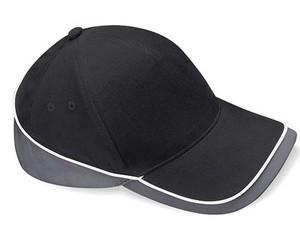 Teamwear Competition Cap Fb. Black/Graphite Grey/White/ Gr. One Size