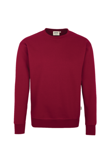 Sweatshirt Premium Fb. weinrot Gr. L