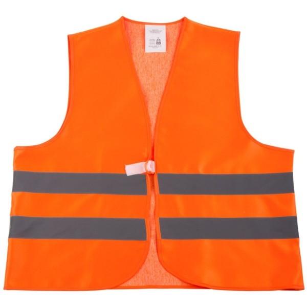 Warnschutz-Weste, ÜG orange Teil 2 EN 471, 145 cm