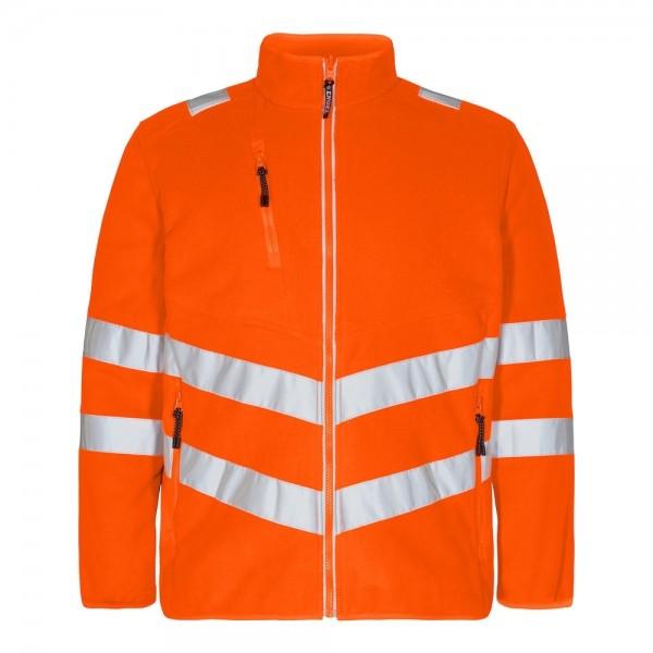Safety Fleece Jacke Fb. Orange, Gr. 2XL