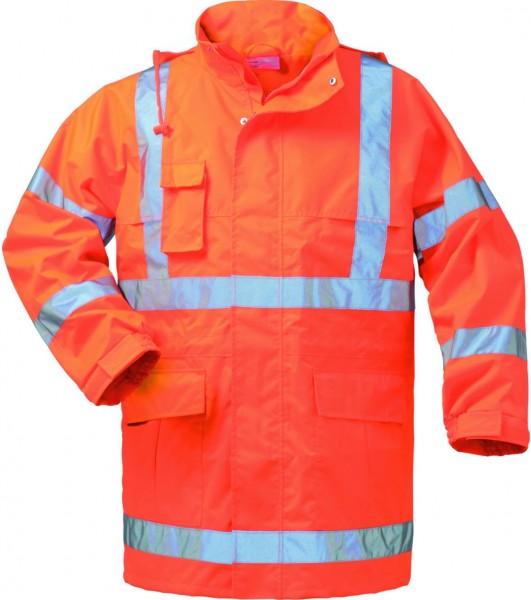Warnschutz- Regenjacke, orange #Varinfo