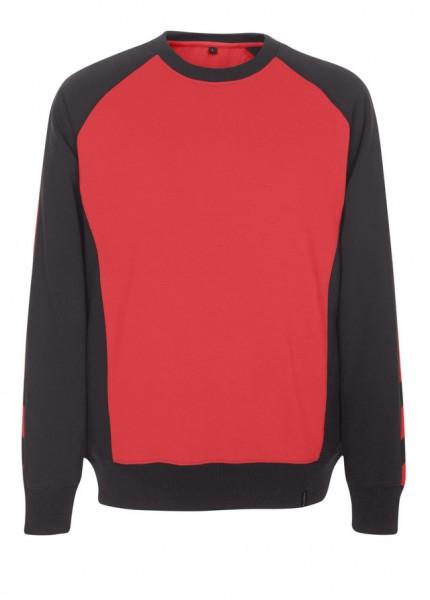 Witten Sweatshirt Fb. Rot/schwarz, Gr. 2XL