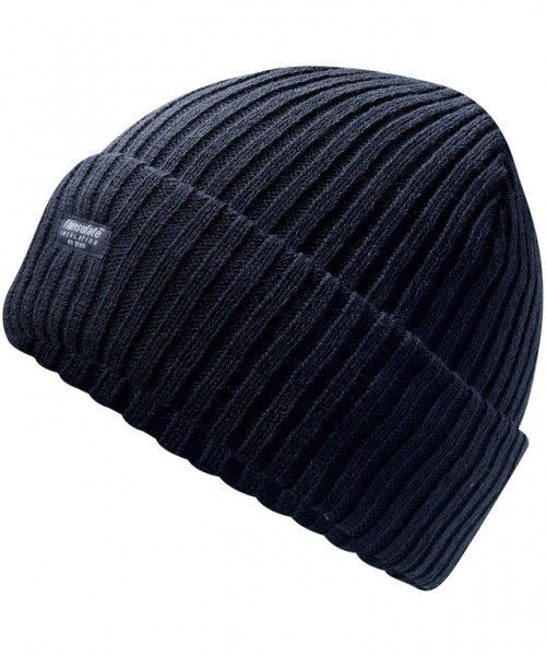 Strickmütze schwarz Thinsulate, Einheitsgröße