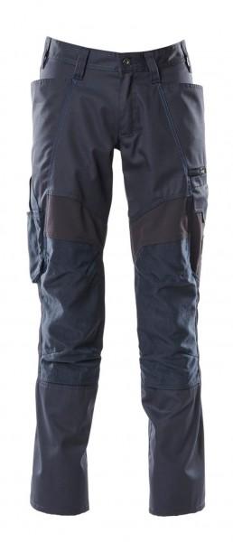 Hose ACCELERATE mit Knietaschen, Stretch-Einsätze Hose Fb. Schwarzblau, Gr. 82C50