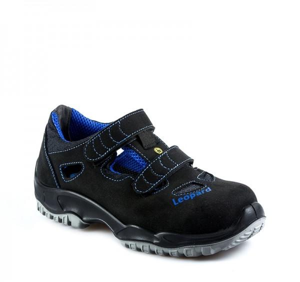 Sicherheitssandale S1 schwarz/blau #Varinfo