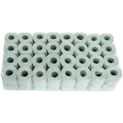 Toilettenpapier Superior, weiß 3-lagig Zellstoff, 11cm, 250 Blatt pro Rolle