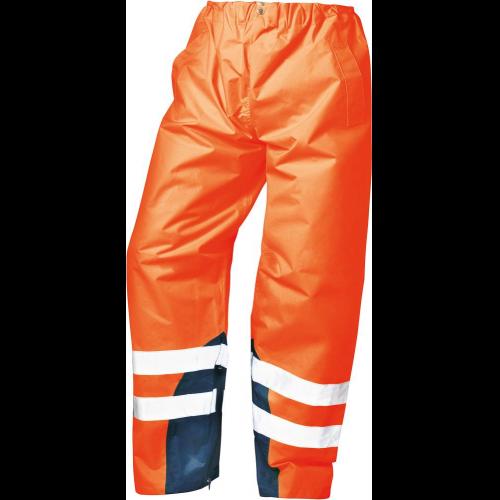 Warnschutz- Regenbundhose, orange #Varinfo