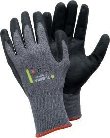 Montage-Handschuh, geschmeidig, grau-schwarz #Varinfo