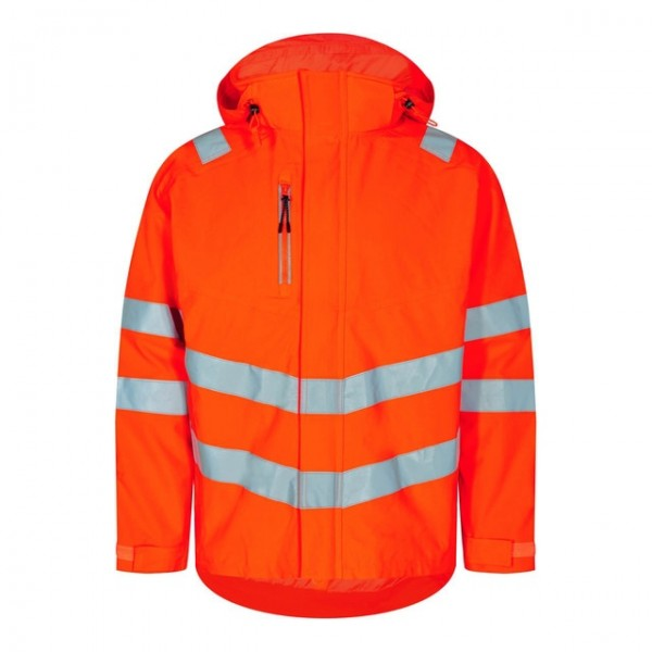 Safety Shell Jacke Fb. Orange Gr. 2XL