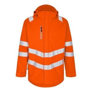 Safety Parka Shell Jacke Fb. Orange Gr. 2XL