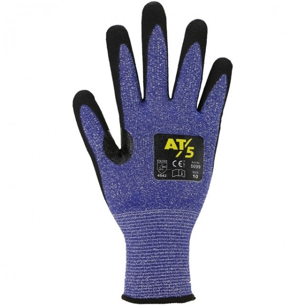 Schnittschutzhandschuh aus HDP-Faser mit Nitrilbeschichtung #Varinfo