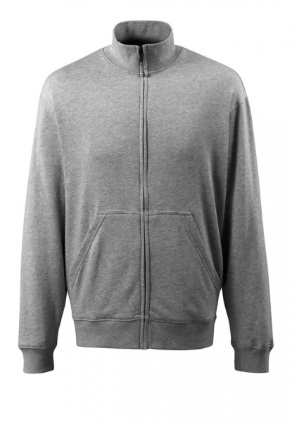 Lavit Sweatshirt mit Reißverschluss Fb. grau-meliert, Gr. L