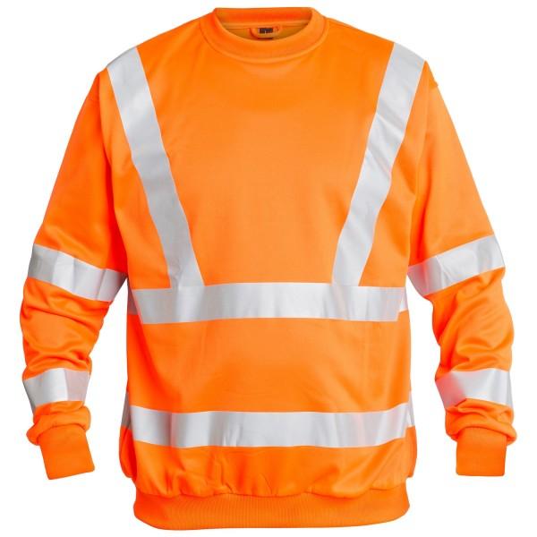 Sweatshirt EN 20471 Fb. Orange Gr. 2XL