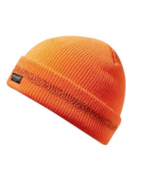 Strickmütze orange Thinsulate, Einheitsgröße