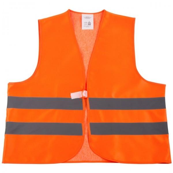 Warnschutz-Weste EN471 orange fluoreszierend