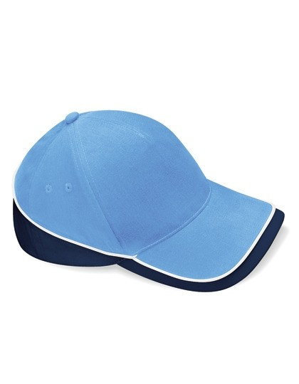 Teamwear Competition Cap Fb. Sky Blue/French Navy/White/ Gr. One Size
