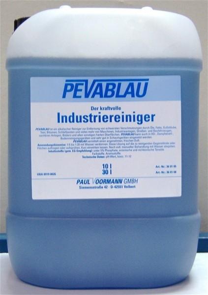 PEVABLAU alkalischer Industriereiniger 10 l Kanister