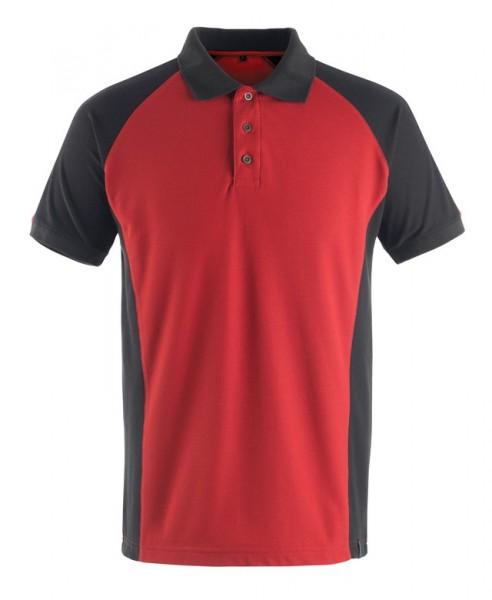 Bottrop Polo-shirt Fb. Rot/schwarz, Gr. 2XL