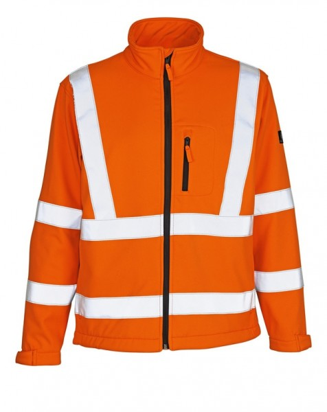 Calgary Soft Shell Jacke Fb. hi-vis Orange, Gr. L